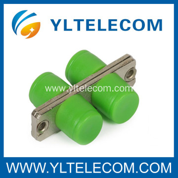 FC - APC Ceramic Sleeve Fiber Optic Adapter , fiber optic connector adapters